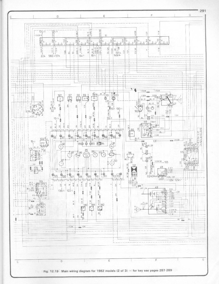 Volvo 740  760 Wiring Diagrams For 1982 Thru 1983 Models